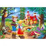 Puzzle  Castorland-06526 Hänsel und Gretel