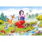 Puzzle  Castorland-06557 Schneewittchen