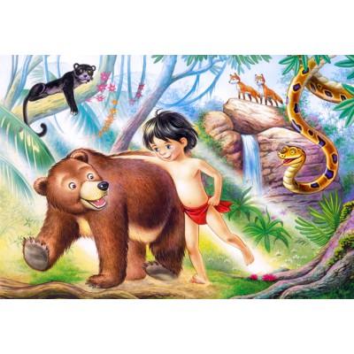 Puzzle Castorland-06564 Dschungelbuch