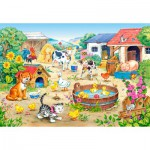 Puzzle  Castorland-06663 Bauernhof