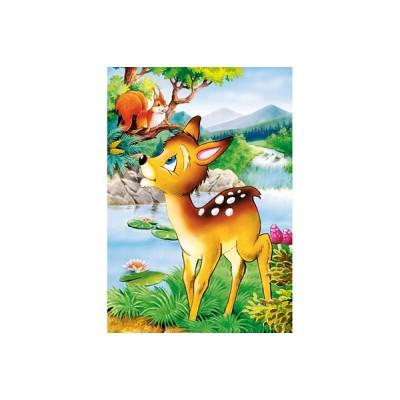 Puzzle Castorland-08521-B01 Bambi