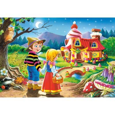 Puzzle Castorland-08521-B04 Hänsel und Gretel
