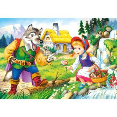 Puzzle Castorland-08521-B14 Rotkäppchen
