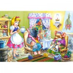 Puzzle  Castorland-08521-B16 Alice im Wunderland