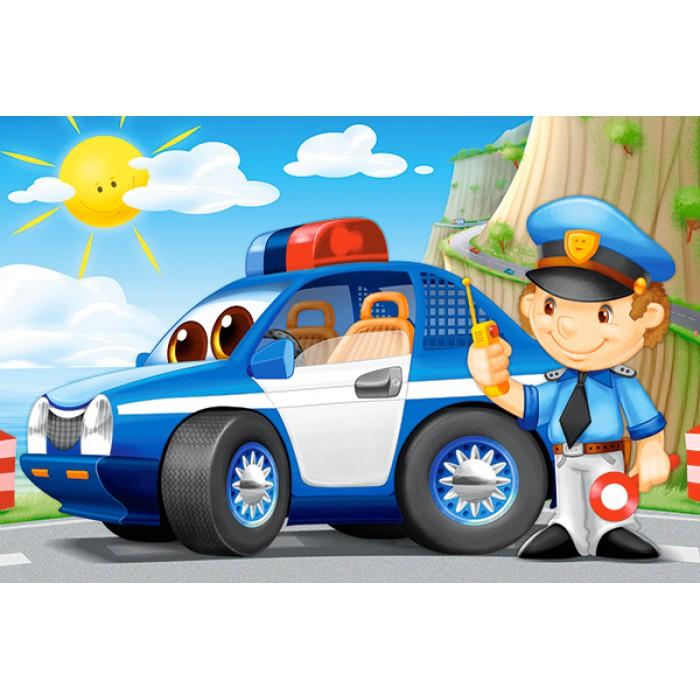 Minipuzzle - Polizei