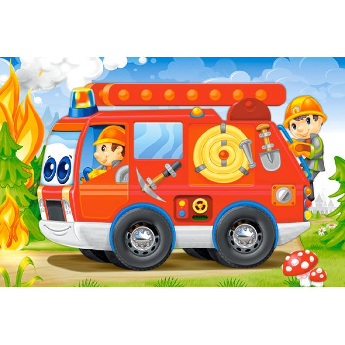 Minipuzzle - Feuerwehr