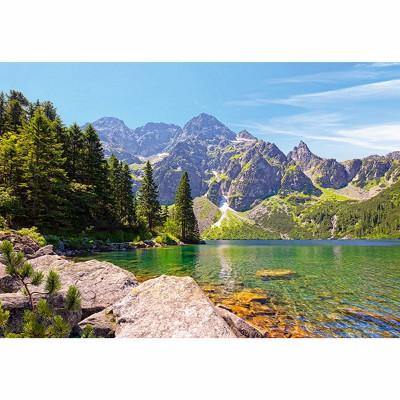 Puzzle Castorland-102235 See Morskie Oko, Tatras, Polen