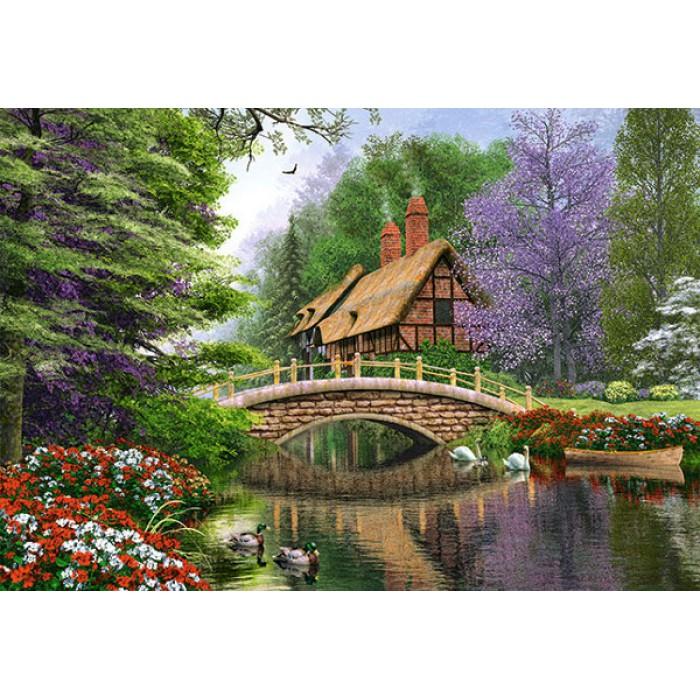 Dominic Davison: Landhaus am Fluss