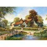 Puzzle  Castorland-102860 Die alte Brücke