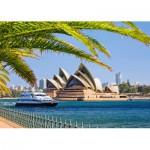Puzzle  Castorland-103003 Opernhaus von Sydney