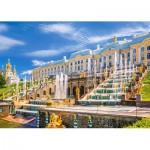 Puzzle  Castorland-103102 Schloss Peterhof, St. Petersburg, Russland