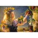 Puzzle  Castorland-103157 A Bouquet of Pleasures