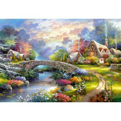 Puzzle Castorland-103171 Springtime Glory