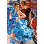 Puzzle  Castorland-103287 Der Tanz in Türkis