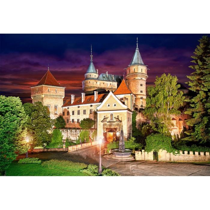 Bojnice Castle at Night