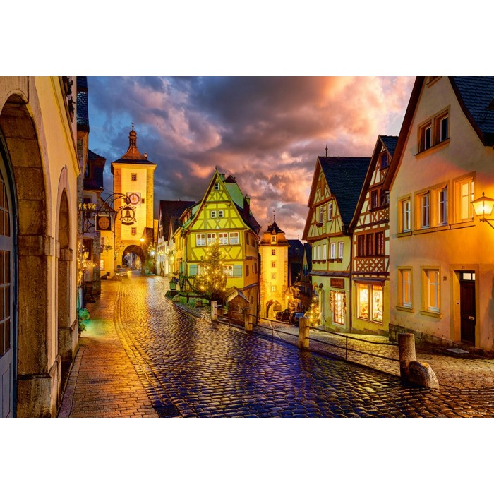Rothenburg at Night