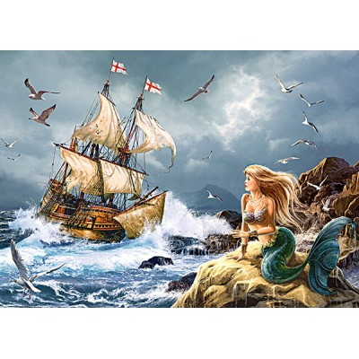 Puzzle Castorland-13166 Geheimnisse des Meeres