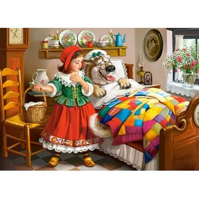 Puzzle Castorland-13227 Rotkäppchen