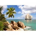 Puzzle  Castorland-150526 Paradiesische Bucht