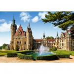 Puzzle  Castorland-150670 Schloss Moszna, Polen