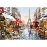 Puzzle  Castorland-151288 Flower Shop