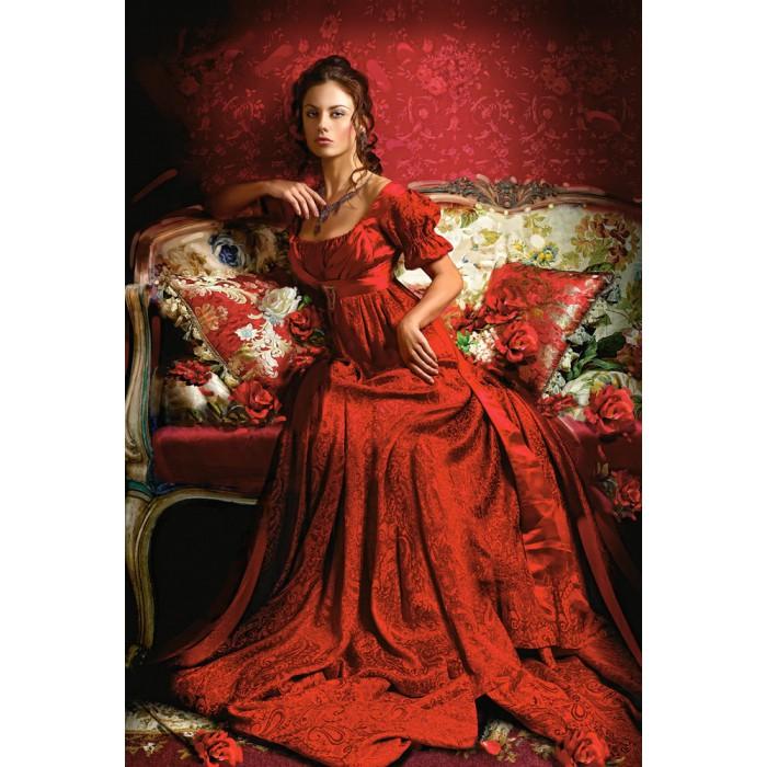 Schönheit in Rot