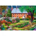 Puzzle  Castorland-151523 The Sweet Garden