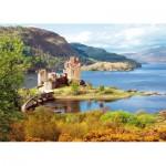 Puzzle  Castorland-200016 Eilean Donan Castle, Schottland