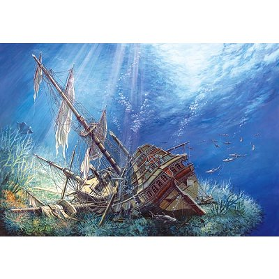 Puzzle Castorland-200252 Sunk Galleon