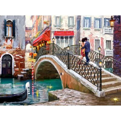 Puzzle Castorland-200559 Brücke in Venedig