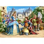 Puzzle  Castorland-21017 Bezaubernde Prinzessin