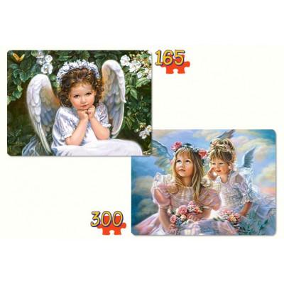 Puzzle Castorland-21093 Süße Engel