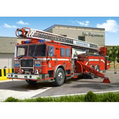 Puzzle Castorland-27040 Feuerwehrauto