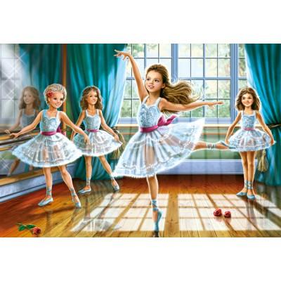 Puzzle Castorland-27231 Kleine Ballerinas