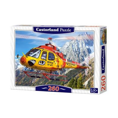 Puzzle Castorland-27248 Hubschrauber-Rettung