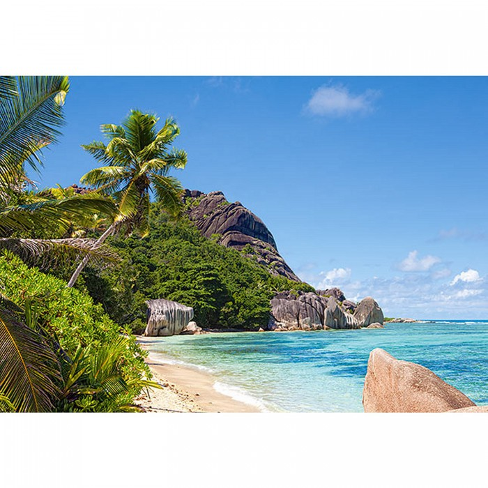 Tropenstrand, Seychellen