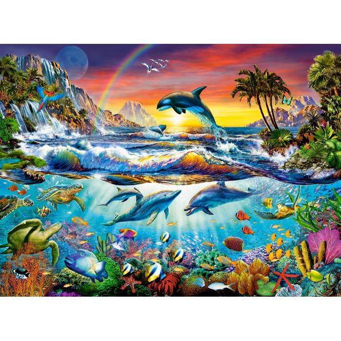 Paradiesische Bucht