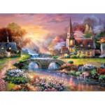 Puzzle  Castorland-300419 Friedvolle Besinnung