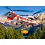 Puzzle  Castorland-30125 Sky Transport
