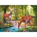 Puzzle  Castorland-30132 Woodland Stream