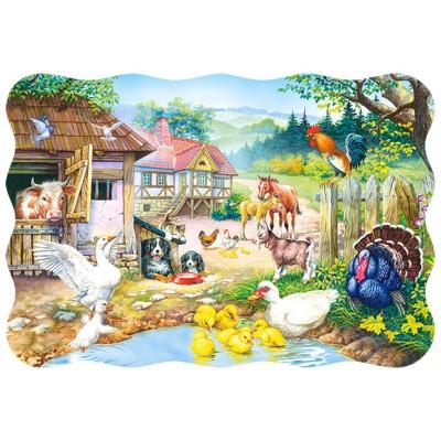 Puzzle Castorland-3310 Der Bauernhof