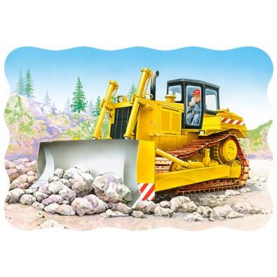 Puzzle Castorland-3327 Bulldozer