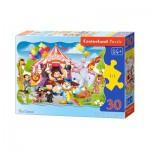 Puzzle  Castorland-3419 Der Zirkus