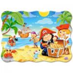 Puzzle  Castorland-3488 Der Piratenschatz