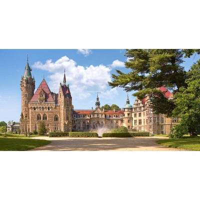 Puzzle Castorland-400027 Schloss Moschen