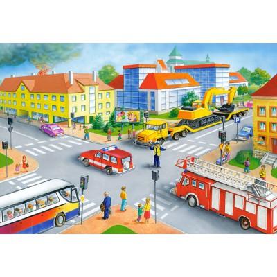 Castorland-40063 Maxi Puzzle - Die Kreuzung