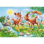 Puzzle  Castorland-40094 XXL-Teile - Hirschkuh