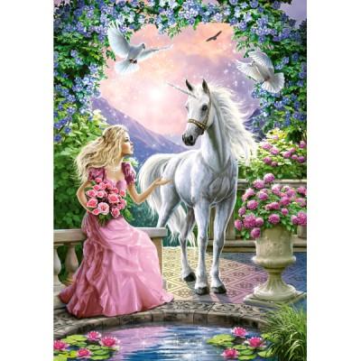 Puzzle Castorland-52127 Der geheime Garten