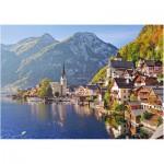 Puzzle  Castorland-52189 Hallstatt, Österreich