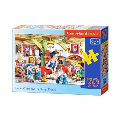 Puzzle Castorland-B-007042 Schneewittchen und die sieben Zwerge